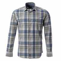 Marc O Polo Sht Lg Snr 51 Blue/Green-J43 Мъжки ризи