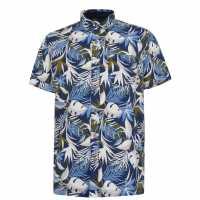 Oneill Мъжка Риза Wailuku Shirt Mens Blue AOP Мъжки ризи