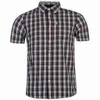 883 Police Карирана Дамска Риза Sigma Check Shirt Navy Мъжки ризи