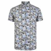 Thomas Royall Tiger Shirt  Мъжко облекло за едри хора
