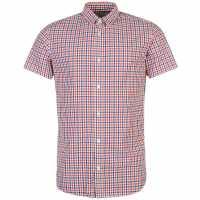 Jack And Jones Блуза С Къс Ръкав Core Break Short Sleeved Shirt Poppy Red Мъжки ризи