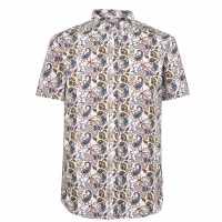 Soviet Мъжка Риза Paisley Shirt Mens  Мъжко облекло за едри хора