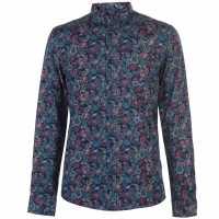 Soviet Мъжка Риза Xl Long Sleeve Pattern Shirt Mens Multi Мъжки ризи