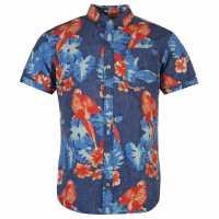 Tommy Hilfiger Мъжка Риза Newton Shirt Mens twilight blue p Мъжки ризи