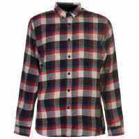 Pierre Cardin Фланелена Риза Long Sleeve Flannel Shirt Mens Blk/Wht/Red/Blu Мъжки ризи