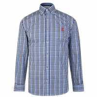 Hurlingham Polo 1875 Tattersal Shirt  Мъжко облекло за едри хора