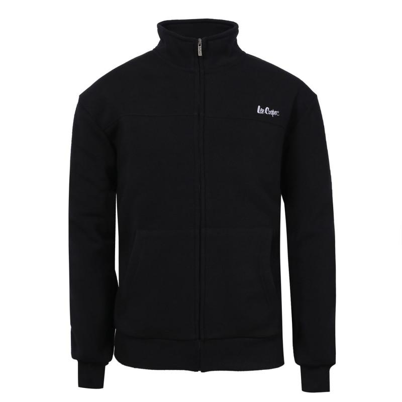 43bfa2930ef Lee Cooper Мъжко Яке Полар Full Zip Fleece Jacket Mens Black Мъжки полар