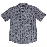 Ben Sherman 02T Short Sleeve Junior Shirt Light Blue Детски ризи