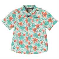 Ocean Pacific Тениска Момчета All Over Print Shirt Junior Boys Tropical Детски ризи