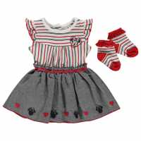 Character 2 Piece Dress Baby Girls Minnie Mouse Детски поли и рокли