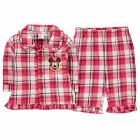 Character Woven Pyjama Set Baby Minnie Mouse Детско облекло с герои
