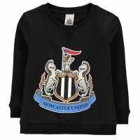 Brecrest Football Sweatshirt Infant Boys Newcastle Детски горнища и пуловери