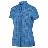 Regatta Womens Mindano V BlueAstrChek Дамски ризи и тениски