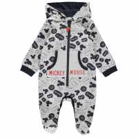 Character Fleece Onesie Baby Boys Mickey Mouse Детско облекло с герои