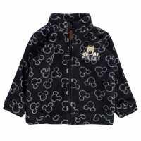 Character Zip Fleece Baby Mickey Mouse Детски горнища и пуловери