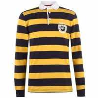 Howick Mint Rugby Shirt Gold Мъжки тениски с яка