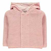 Crafted Mini Bear Cardi Infant Girls Pink Bear Girls Бебешки дрехи