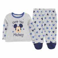 Character Pyjama Set Baby Mickey Mouse Детско облекло с герои