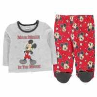 Character Pyjama Set Baby Mickey Xmas Детско облекло с герои
