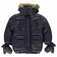 Firetrap Luxury Parka Baby Boys  Детски якета и палта