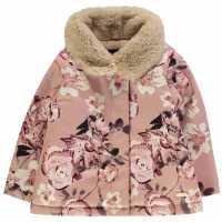 Firetrap Lined Jacket Blush Floral Детски якета и палта