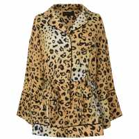 Kendall And Kylie Romper Leopard LPD Дамски къси панталони