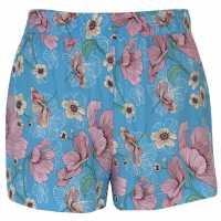 Jdy Victory Shorts Aqua/Pink Дамски къси панталони