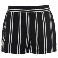 Jdy Victory Shorts Black/Cld Stps Дамски къси панталони