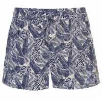 Soulcal Дамски Шорти Aop Shorts Ladies Navy Floral AOP Дамски къси панталони
