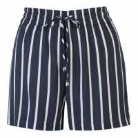 Jdy Дамски Шорти Star Shorts Ladies Navy/Wht Stirpe Дамски къси панталони