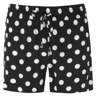 Jdy Дамски Шорти Star Shorts Ladies Black/Wht Dot Дамски къси панталони