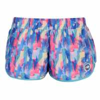 Hot Tuna Дамски Шорти Caribbean Shorts Ladies Pink Multi Дамски къси панталони