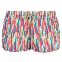Hot Tuna Дамски Шорти Caribbean Shorts Ladies Purple Multi Дамски къси панталони