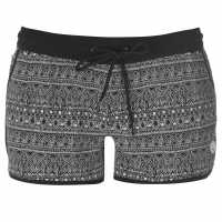 Gul Дамски Бермуди Board Shorts Ladies Black Mono Дамски бански