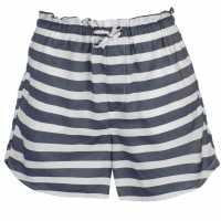 Kangol Дамски Шорти Drawstring Shorts Ladies White/Navy Дамски панталони тип Чино