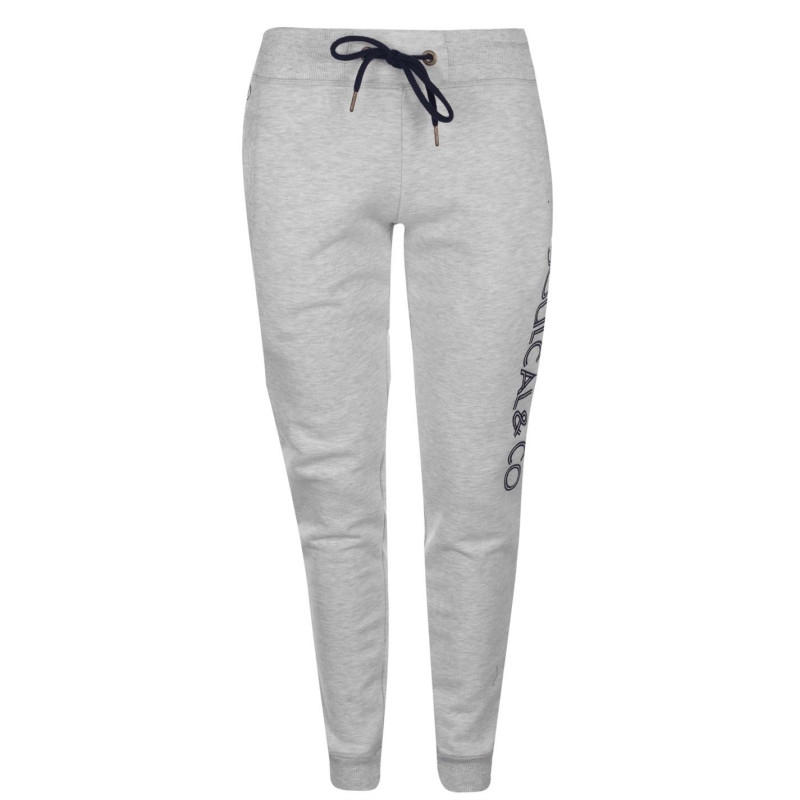 c891b48a990 Soulcal Deluxe Embroidered Logo Joggers Grey Дамски долнища на анцуг