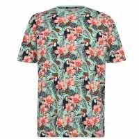 Мъжка Тениска Hot Tuna Fun T Shirt Mens Toucan Мъжки тениски и фланелки