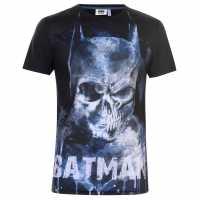 Character Мъжка Тениска Short Sleeve T Shirt Mens Batman Мъжки тениски и фланелки