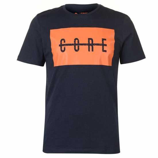 Jack And Jones Тениска Crew Alexis T Shirt Sky Captain Мъжки тениски и фланелки