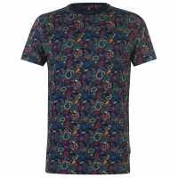 Soviet Тениска Paisley T Shirt Multi Мъжки тениски и фланелки