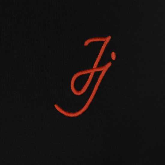 Jack And Jones Мъжка Блуза Core Long Sleeve T Shirt Mens Black Мъжки тениски и фланелки