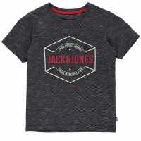 Jack And Jones Детска Тениска Large Chest Logo T Shirt Junior Maritime Blue Детски тениски и фланелки