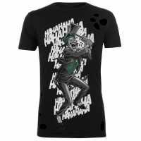 Character Мъжка Тениска Dc Comics T Shirt Mens Joker Haha Мъжки тениски и фланелки