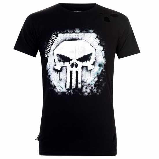 dc6900347a8 Character Мъжка Тениска Marvel T Shirt Mens Punisher Мъжки тениски и  фланелки