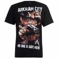 Character Мъжка Тениска Marvel T Shirt Mens Arkham City Мъжки тениски и фланелки