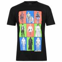 Character Мъжка Тениска Star Wars T Shirt Mens Characters Мъжки тениски и фланелки