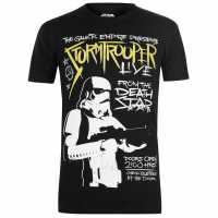 Character Мъжка Тениска Star Wars T Shirt Mens Trooper Live Мъжки тениски и фланелки