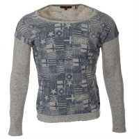 Tom Tailor Sweatshirt Lds 43 Carbon grey Дамски суичъри и блузи с качулки