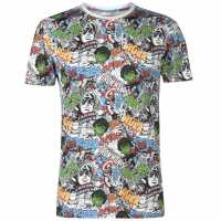 Character Мъжка Тениска Short Sleeve T Shirt Mens Avengers Мъжко облекло за едри хора