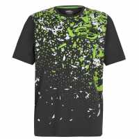 No Fear Мъжка Тениска Core Graph T Shirt Mens Dark Smash Мъжко облекло за едри хора